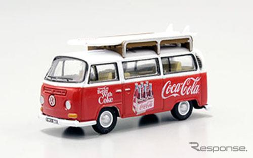 OXFORD 1/76scale VW Bay Window Coca-Cola