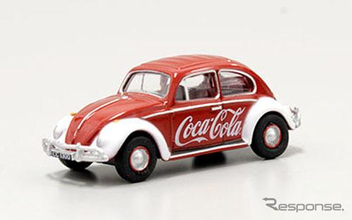 OXFORD 1/76scale VW Beetle Coca-Cola
