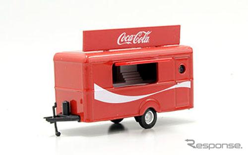 OXFORD 1/76scale Mobile Trailer Coca-Cola