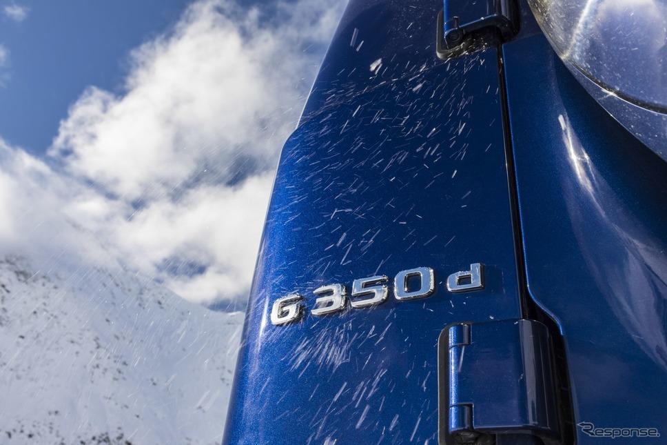 メルセデスベンツ Gクラス 新型の「G350d」