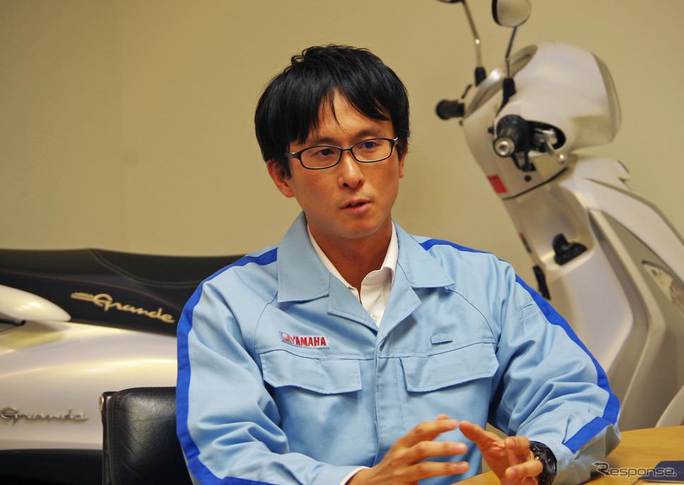 プロジェクトリーダーを務めた西村健さん《撮影 宮崎壮人》