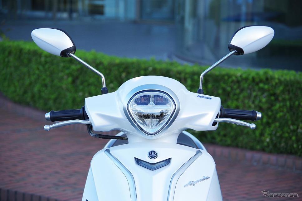 ヤマハ初のハイブリッドバイク「NOZZA GRANDE(ノザグランデ)」(ベトナム仕様)《撮影 宮崎壮人》
