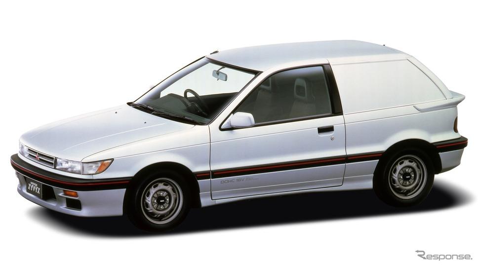ミラージュ・ザイビクスDOHC 16V-T(1987年)