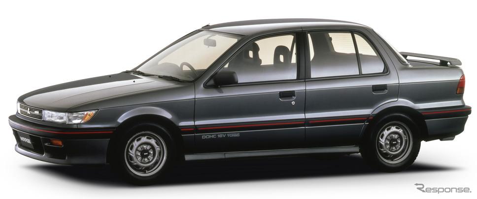 ミラージュ・サイボーグDOHC 16V-T(4ドア、1988年)
