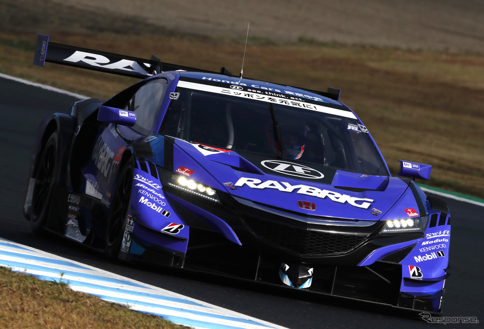 2018年のGT500チャンピオン、チーム国光のNSX(当時はカーナンバー100)。《写真提供 Honda》