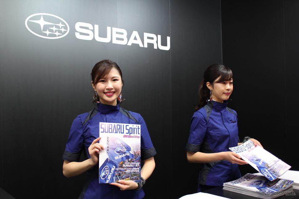 スバル/STI(東京オートサロン2019)《撮影 松崎祐子》