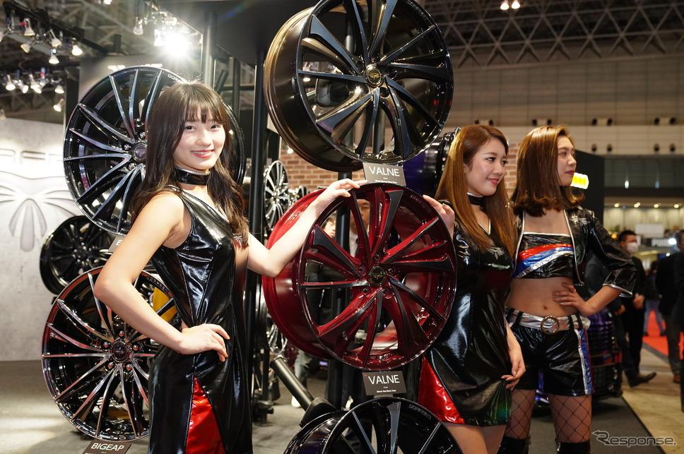 トピー実業ブース(東京オートサロン2019)《撮影 愛甲武司》