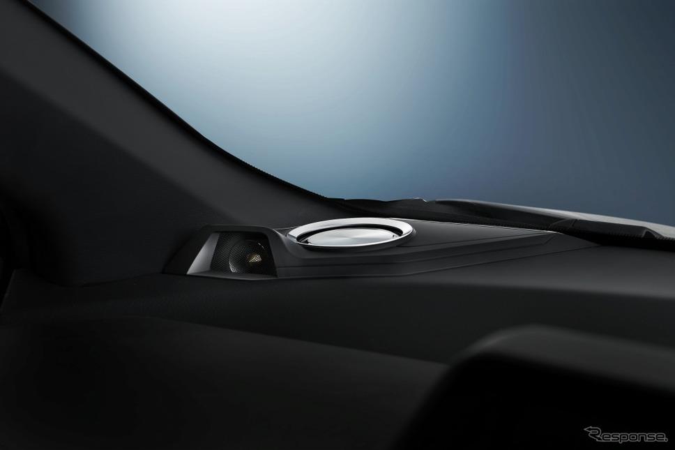 アルパイン 車種専用リフトアップ3ウェイスピーカー C-HR専用 X2-25TW-LUP-CHR(収納時)