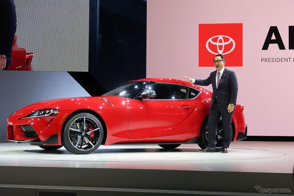トヨタ・スープラ新型(デトロイトモーターショー2019)《撮影 工藤貴宏》
