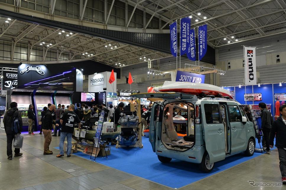 ジャパンフィッシングショー2019 in YOKOHAMA《撮影 嶽宮三郎》