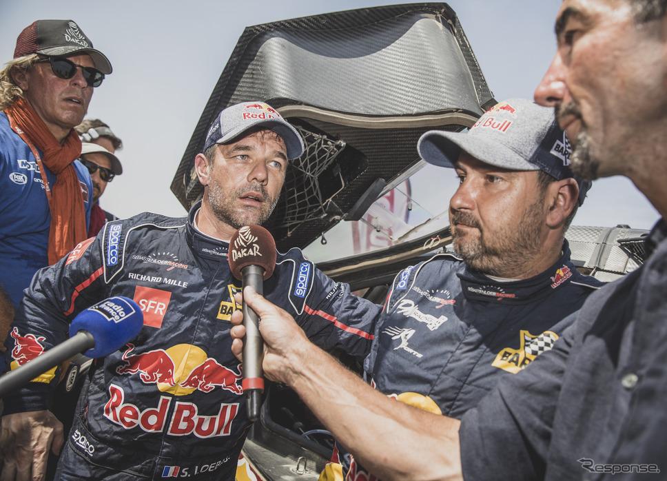 ダカール総合優勝は今回も果たせなかったローブ。《写真提供 Red Bull》