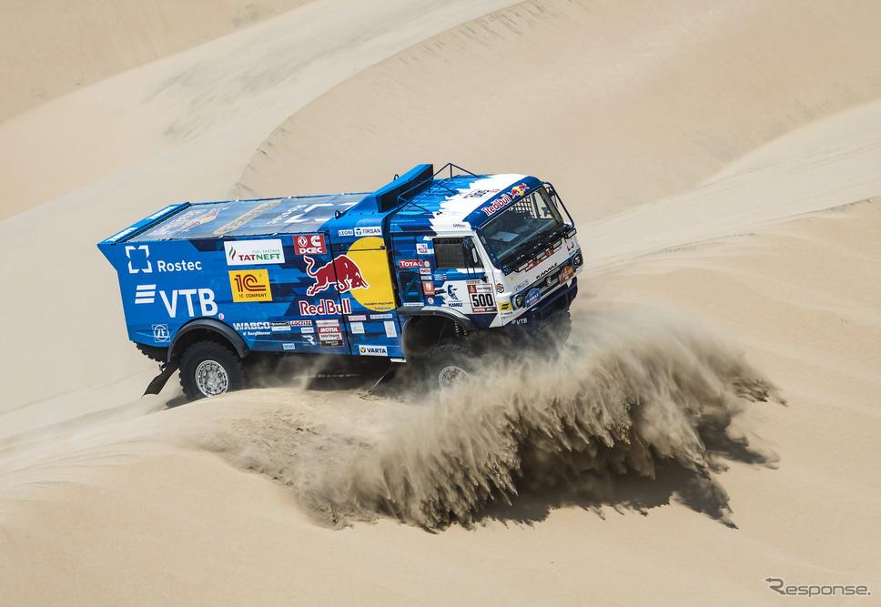 トラック総合優勝のE.ニコラエフ(カマズ)。《写真提供 Red Bull》
