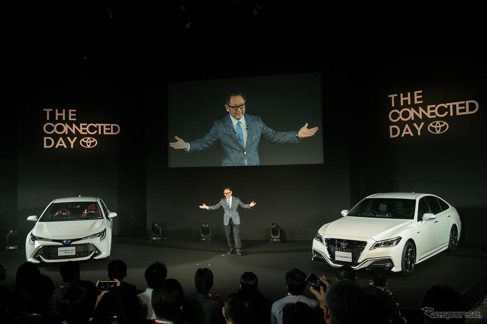 新型クラウンは「コネクティッドカー」として登場した《画像 トヨタ自動車》