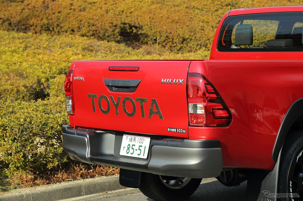 """トヨタ ハイラックス Z""""Black Rally Edition""""《撮影 板津亮》"""