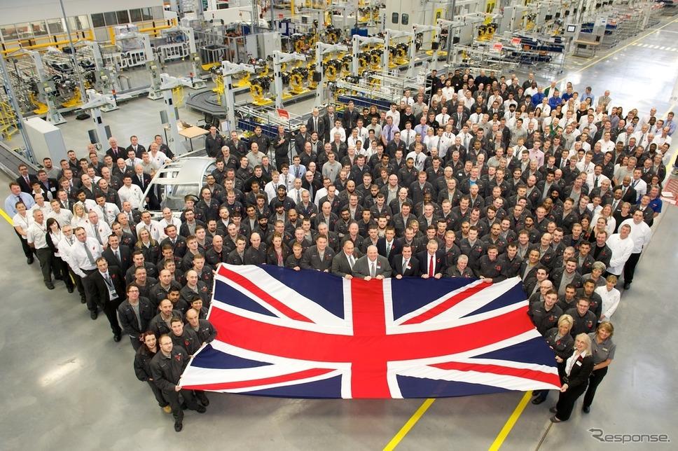 英ウォルヴァーハンプトンのエンジン生産センター
