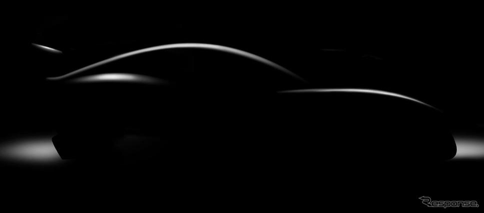ジネッタの軽量スーパーカーのティザーイメージ