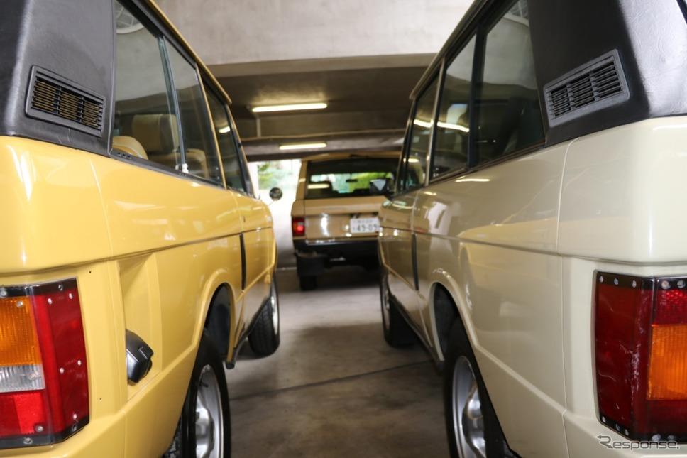 すでにオリジナルレンジローバーは人気も上々で昨年のオートモビルカウンシルで展示。反響も大きかった。《撮影 中込健太郎》