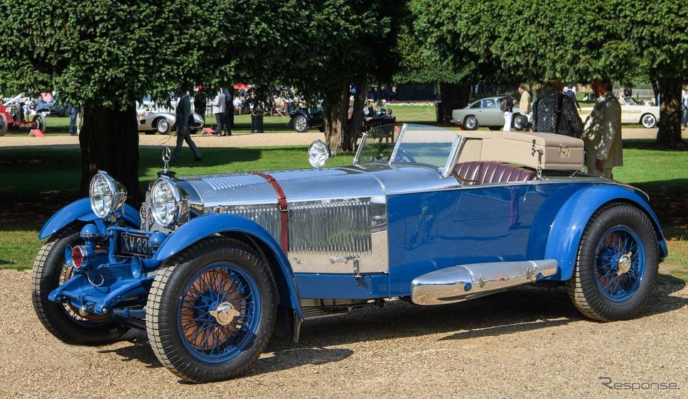 ペニンシュラ・クラシックス・エントリー:1928年型メルセデスベンツ680Sボートテール・ロードスターbyバーカー(コンクール・デレガンス・ハンプトン・コート・パレス)