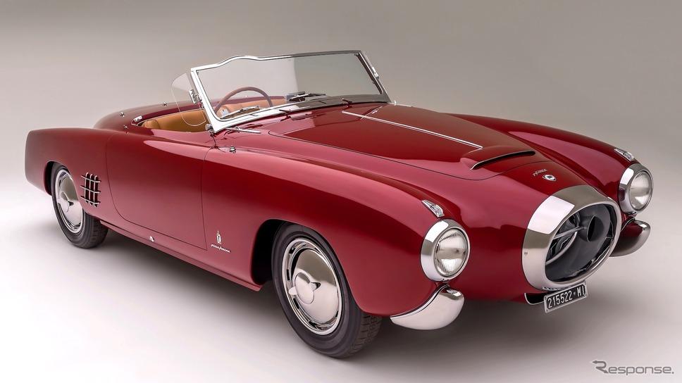 ペニンシュラ・クラシックス・エントリー:1953年型ランチア・アウレリアPF200Cスパイダーbyピニンファリーナ(ザ・クエイル、モータースポーツ・ギャザリング)