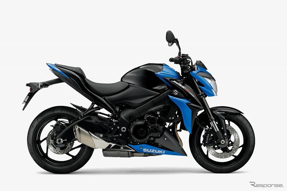 スズキ GSX-S1000 ABS(グラススパークルブラック/トリトンブルーメタリック)