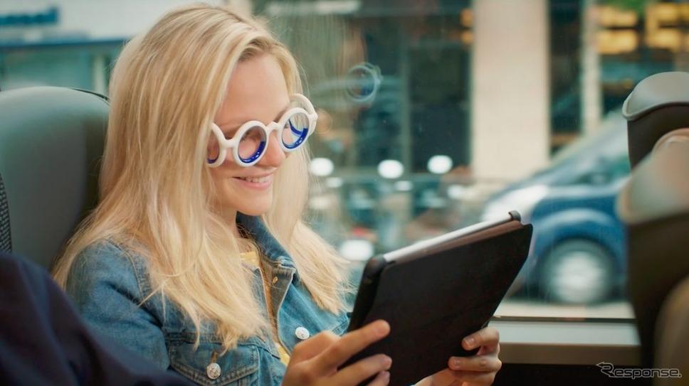 車酔いの症状を解消するメガネ、シトロエンの「シートロエン」