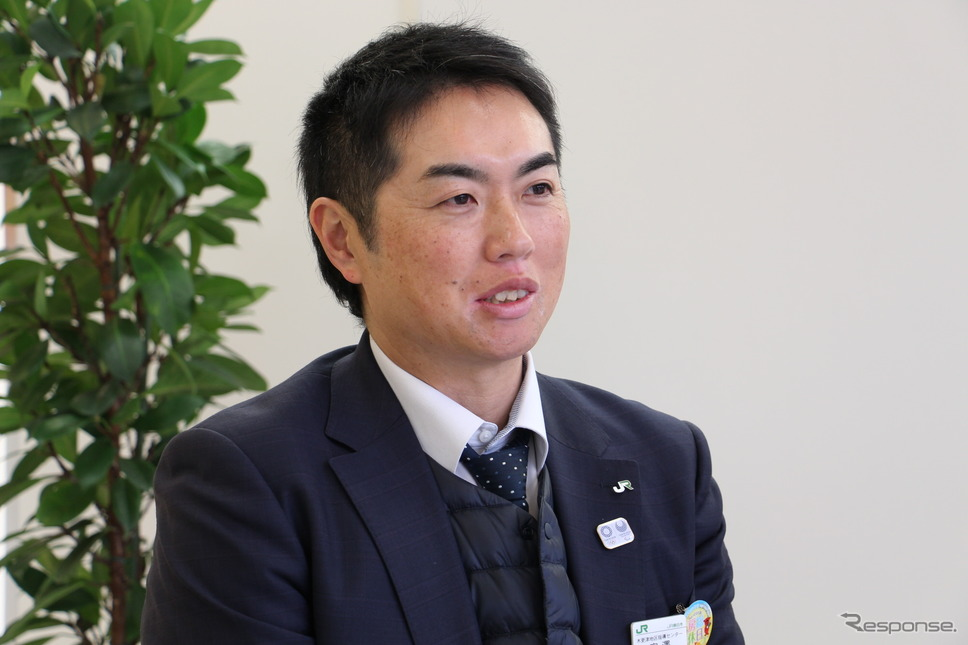 JR東日本 木更津地区指導センター 副長 宮澤聡さん《撮影 吉田瑶子》