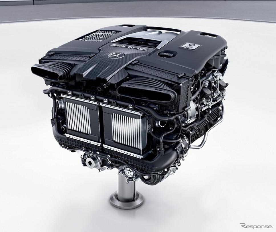 AMG 4.0リットルV8直噴ツインターボエンジン「M177