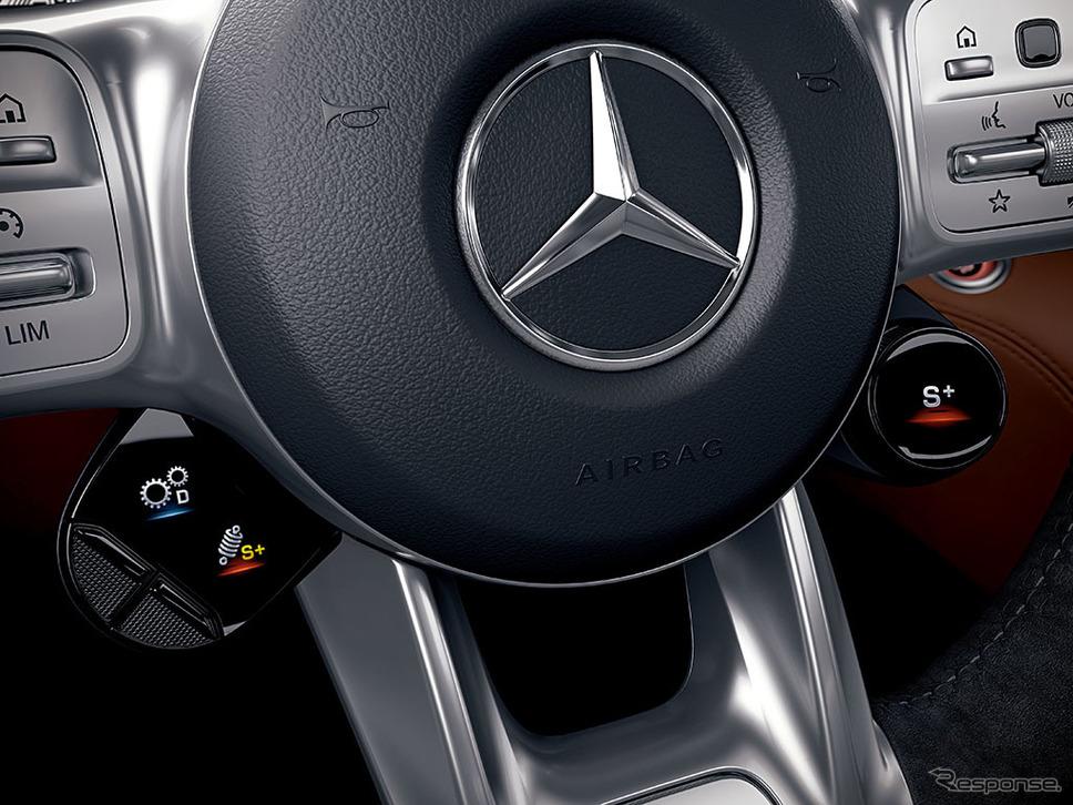 メルセデスAMG GT ドライブコントロールスイッチ