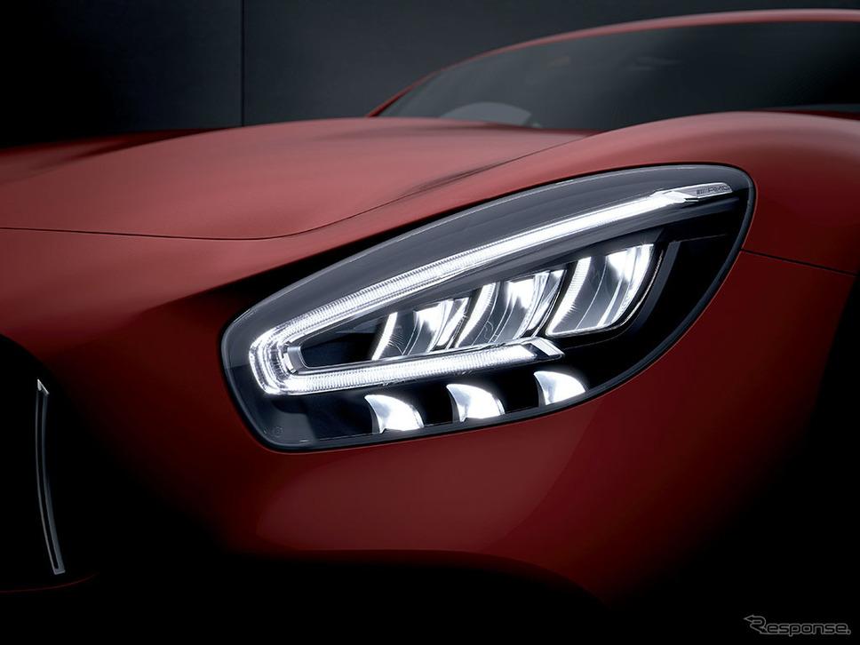 メルセデスAMG GT マルチビームLEDヘッドライト