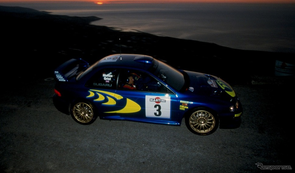 SUBARU インプレッサ WRC98/ドライバー:新井敏弘