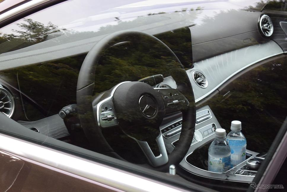 試乗車は左ハンドルであった。右側通行で逆走しているような気分になるので筆者は日本では断然右のほうが好きだが、車両感覚は車幅が広いわりにはつかみやすかった。《撮影 井元康一郎》