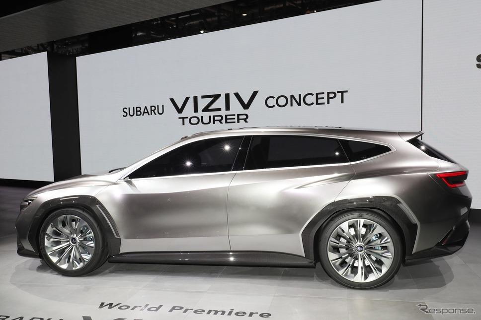 スバル VIZIVツアラー コンセプト(ジュネーブモーターショー2018)