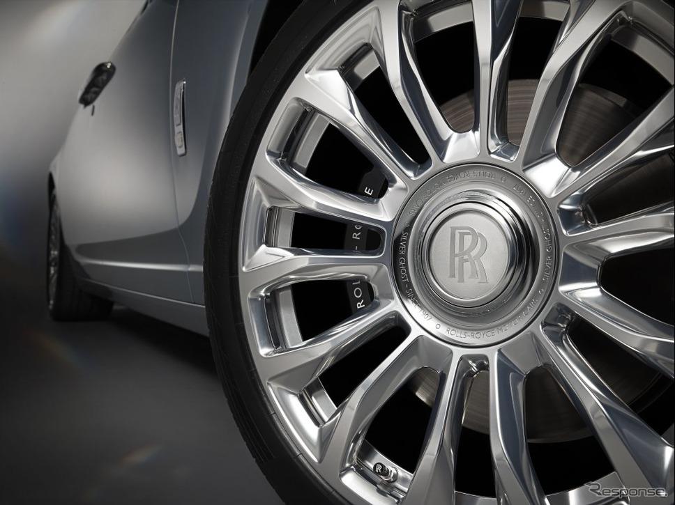 ロールスロイスの35台限定車「シルバーゴーストコレクション」の磨き込まれたホイール