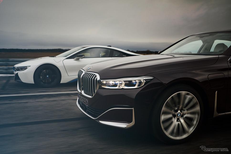 BMW 7シリーズ 改良新型のPHV