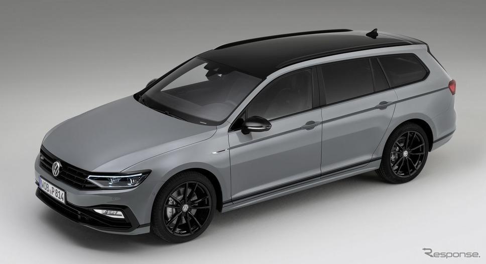 VW パサート・ヴァリアント 改良新型の Rライン・エディション