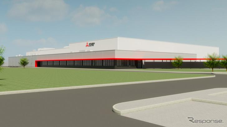 MEAC新工場のイメージ