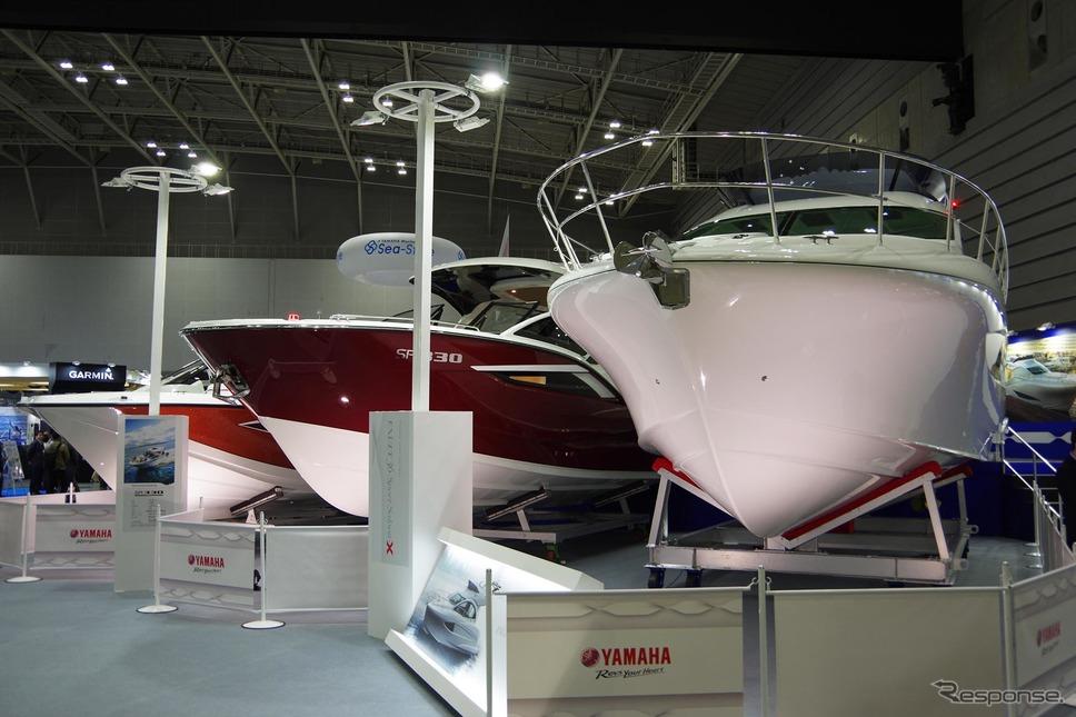 ヤマハ発動機(ジャパンインターナショナルボートショー2019)《撮影 宮崎壮人》