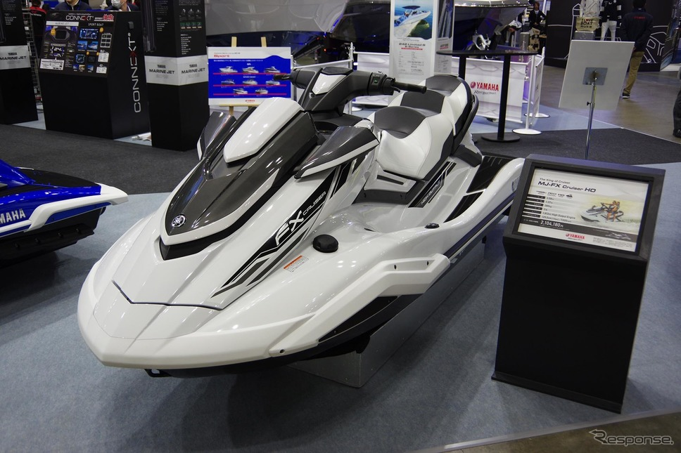 7年ぶりにモデルチェンジしたヤマハ発動機の水上オートバイ「MJ-FX Cruiser HO」(ジャパンインターナショナルボートショー2019)《撮影 宮崎壮人》
