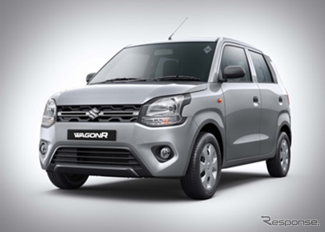 マルチスズキの新型ワゴンRの新開発の天然ガス車、「S-CNG」