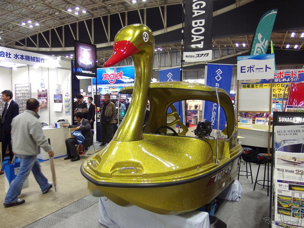 スナガSJW-3(ジャパンボートショー2019)《撮影 高木啓》