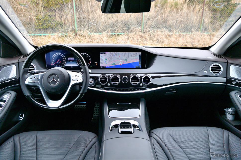 メルセデスベンツ S400d《撮影 雪岡直樹》