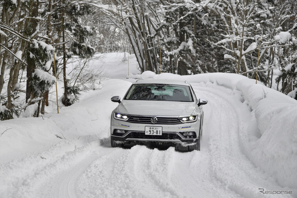VW雪上試乗会《撮影 雪岡直樹》