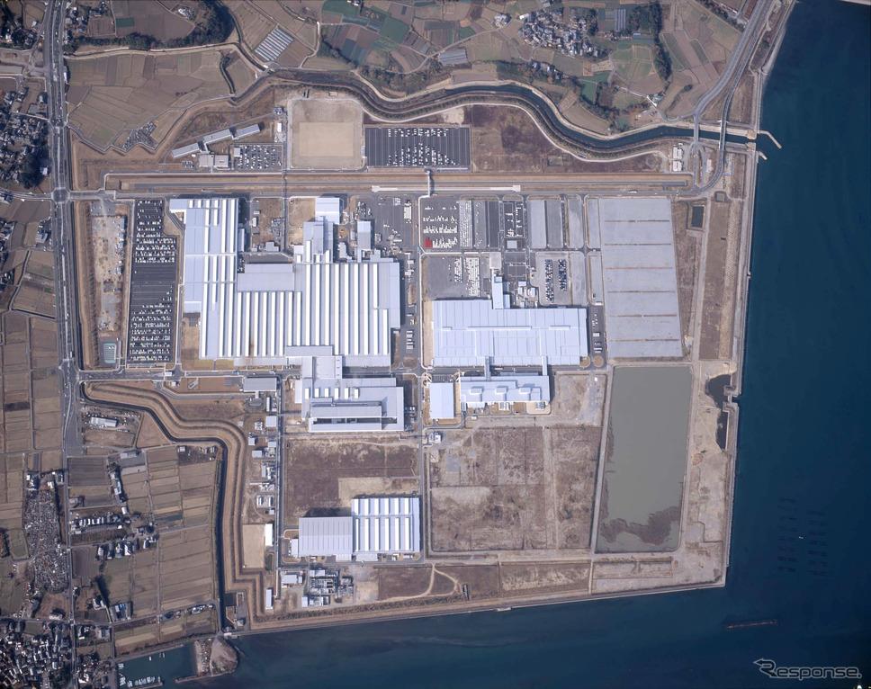 ダイハツ九州大分(中津)工場