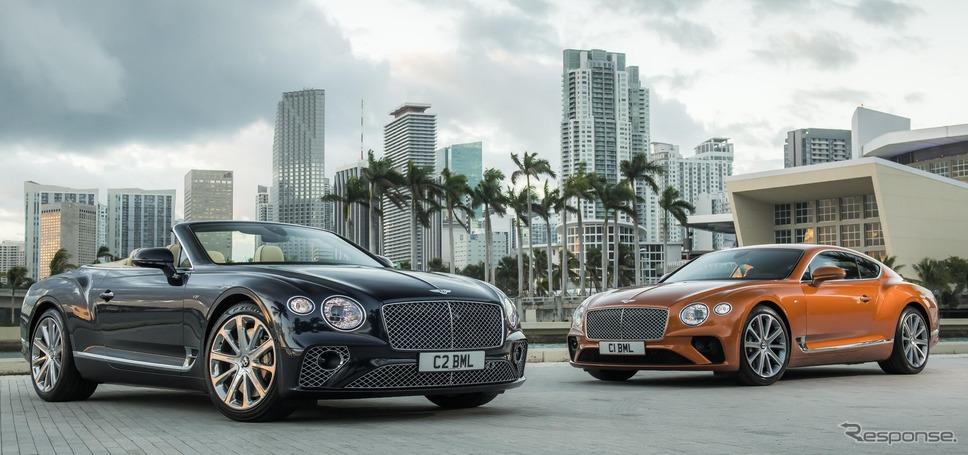 ベントレー・コンチネンタル GT V8 コンバーチブル 新型とベントレー・コンチネンタル GT V8 新型