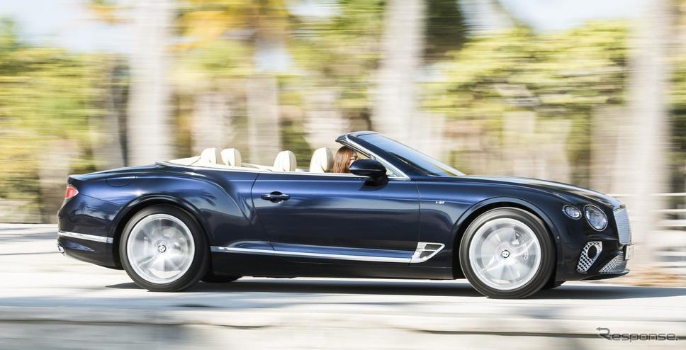 ベントレー・コンチネンタル GT V8 コンバーチブル 新型