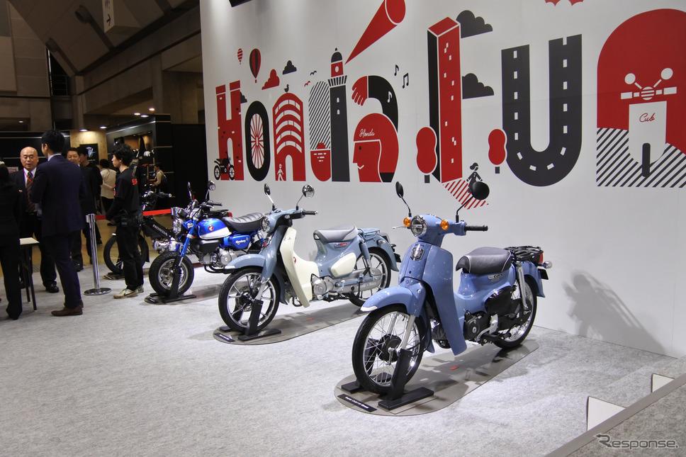 ホンダブース(東京モーターサイクルショー2019)《撮影 小松哲也》