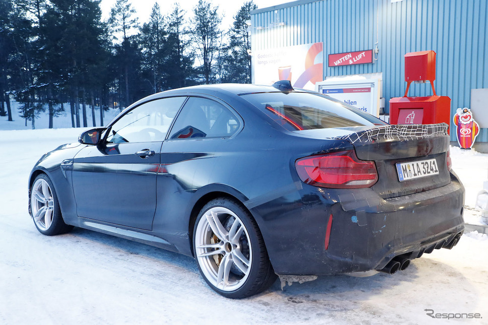 BMW M2 CS/CSL スクープ写真《APOLLO NEWS SERVICE》