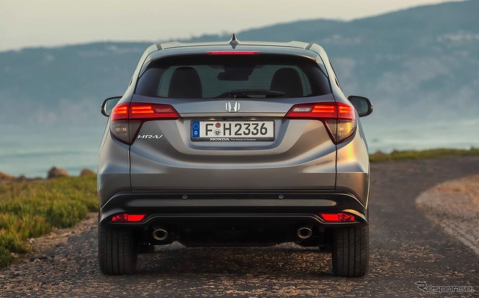 ホンダ HR-V(日本名:ヴェゼルに相当)の2019年モデル