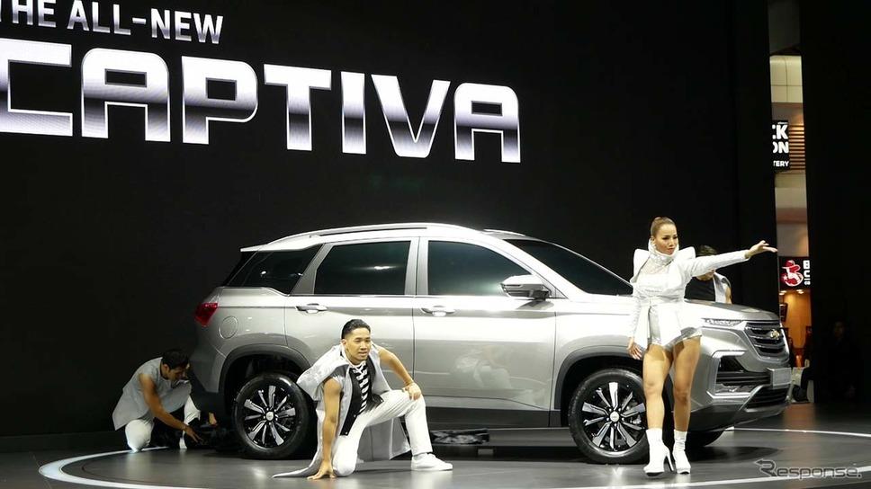 2019年末に発売を予定する新型「キャプティバ」がタイでデビューした