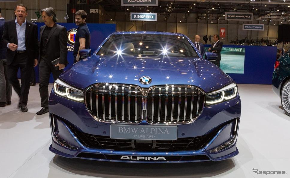 アルピナ B7 改良新型(ジュネーブモーターショー2019)